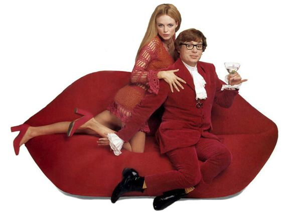 Bocca Lips Sofa from Austin Powers